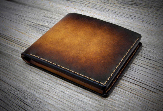 Mens Wallet With Coin Pocket Handmade From Odorizzi On Etsy