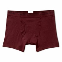 Banana Republic Mens Stretch Pima Cotton Boxer Brief Size S - Rooster red