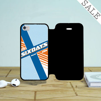 Ktm Motorcycle Six Days Finland Mx iPhone 4 |4S Flip Case
