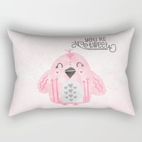 You're Tweet Rectangular Pillow by Noonday Design