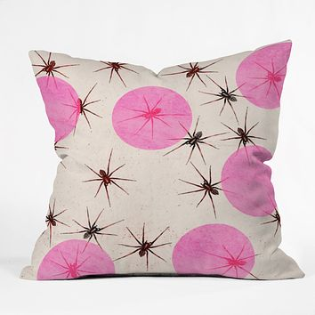Elisabeth Fredriksson Spiders I Throw Pillow