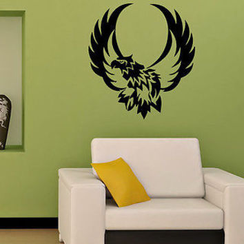 TRIBAL EAGLE BIRD ANIMAL  WALL VINYL STICKER  DECALS ART MURAL D164