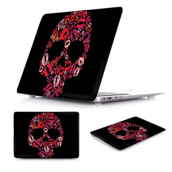 Case For Macbook Air 11 13 new 12 inch Cover Fantasy Skull Print Plastic Hard Case For Mac Book Pro 13 15 Touch bar Retina 13""