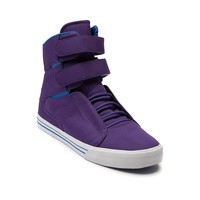 Mens Supra Society Skate Shoe, Purple Royal  Journeys Shoes