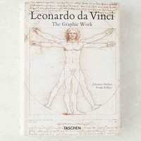 Leonardo da Vinci: The Graphic Work By Frank Zollner  & Johannes Nathan
