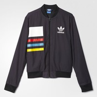adidas Allover Print Track Jacket - Multicolor | adidas US