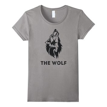 The wolf- bachelor party cool t-shirt for the groom