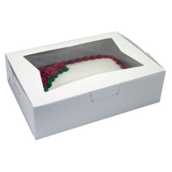 Square Window Bakery Box, 10