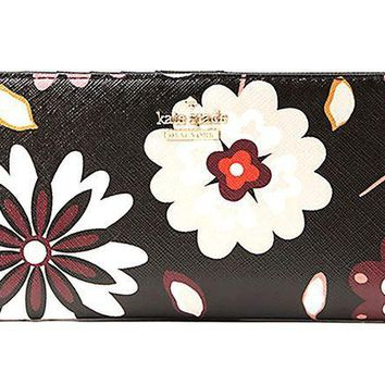 ESBON2D Kate Spade Cameron Street Stacy Leather Wallet, Multi