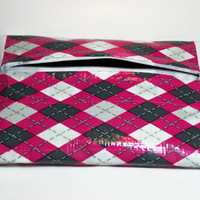 Pencil Pouch Makeup Bag Duct Tape with Zipper by TiedUpInTape