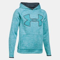 Boys' UA Storm Armour® Fleece Twist Highlight Hoodie | Under Armour US