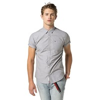 SOLID SHORT SLEEVE SHIRT | Tommy Hilfiger