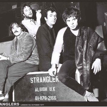 The Stranglers London 1977 Band Poster 24x33