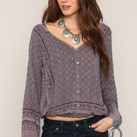 O'Neill Malene Woven Top at PacSun.com
