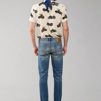 MOTORCYCLE PRINT SHIRT