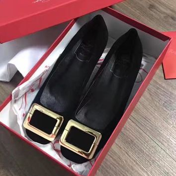 Roger Vivier Women Casual Low Heeled Shoes-2