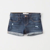 girls Ripped Shortie Shorts | girls bottoms | Abercrombie.com