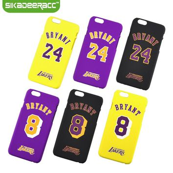SC38 Fashion Basketball NBA Hard Plastic Phone Cases Covers For iPhone 6 6s Plus
