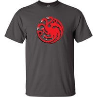 game of Thrones Inspired Targaryen Dragon T-Shirt