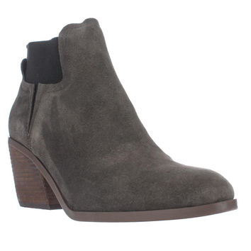 Guess Galeno Pull On Ankle Boots, Grey, 8 US
