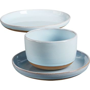 natural clay dinnerware