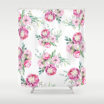 hurry spring Shower Curtain by sylviacookphotography