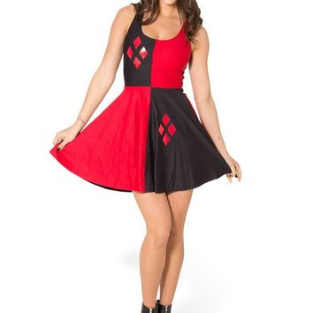 Plus size 4XL Comics Super Harley Quinn Costume sailor Fancy Dre. Special  Use  Costumes Gender  Women Components  Dresses ... 6854ac272336
