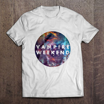 Vampire Weekend Cyrcle Galaxy Men Women T Shirt Two Door Cinema Club Indie Rock Punk Musik Birtday Gift Present