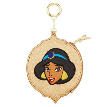 Disney Jasmine Glitter Coin Purse by Danielle Nicole New with Tags