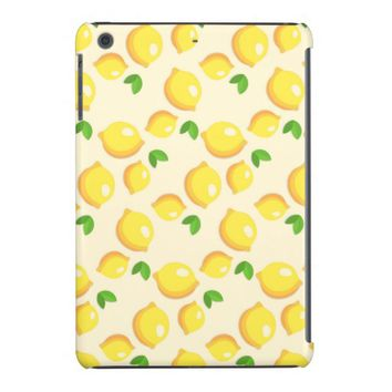 Lemon Pattern iPad Mini Case