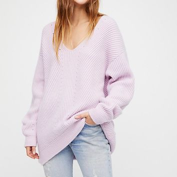 Come Back For Me Cashmere V-Neck Sweater