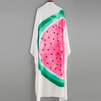 Watermelon Summer Beach Swimsuit Cover Up