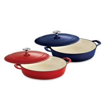 Tramontina® Gourmet Cast Iron Series 1000 4-Quart Covered Braiser
