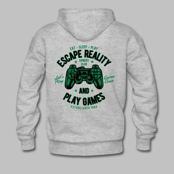 Escape Reality Gamer Hoodie | Logic72