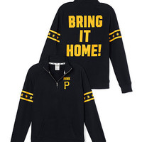 Pittsburgh Pirates Half-Zip Pullover - PINK - Victoria's Secret