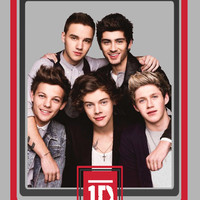 One Direction Frame Art Print by dan ron eli