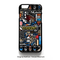 Divergent Hunger Game Harry Potter Book Quotes for iPhone 4 4S 5 5S 5C 6 6 Plus , iPod Touch 4 5  , Samsung Galaxy S3 S4 S5 Note 3 Note 4 , and HTC One X M7 M8 Case Cover