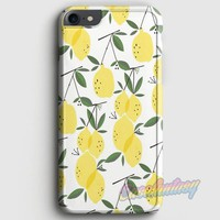 Lemons Pattern iPhone 7 Case