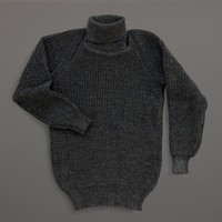 LABOUR AND WAIT | Fisherman's Sweater - Charcoal