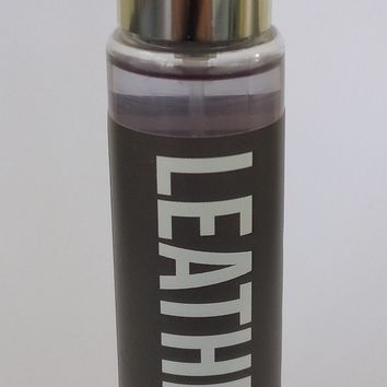 Bath & Body Works LEATHER Fragrance Mist Travel Size 1 oz