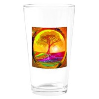 Healing Drinking Glass> Tree of Life Shop