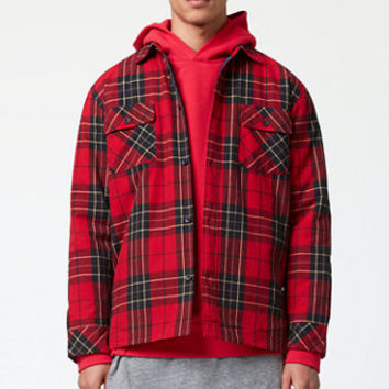 FOG - Fear Of God Plaid Shacket at PacSun.com