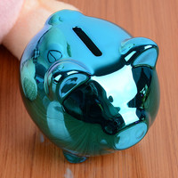 Cute Cartoon Pig Ceramic Piggy Bank Kids Children Toy Coin Cashbox Birthday Gift E2shopping