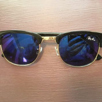Vintage Ray Ban Clubmaster Sunglasses