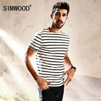 9236c9c65c0 ... Best Breton Striped Shirt Products on Wanelo SIMWOOD Breton Top Fashion  Slim Fit Black White Striped T ...