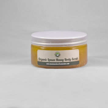 Organic Lemon Honey Body Scrub