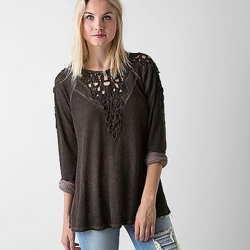 Gimmicks Open Weave Top