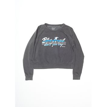 Blue Angel Roy Orbison Cropped Sweatshirt