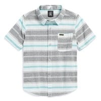 Toddler Boy's Volcom 'Medfield' Short Sleeve Woven Shirt,