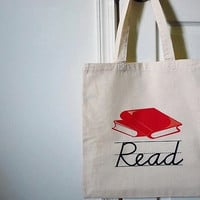 READ Tote Bag by craftyaddictions on Etsy